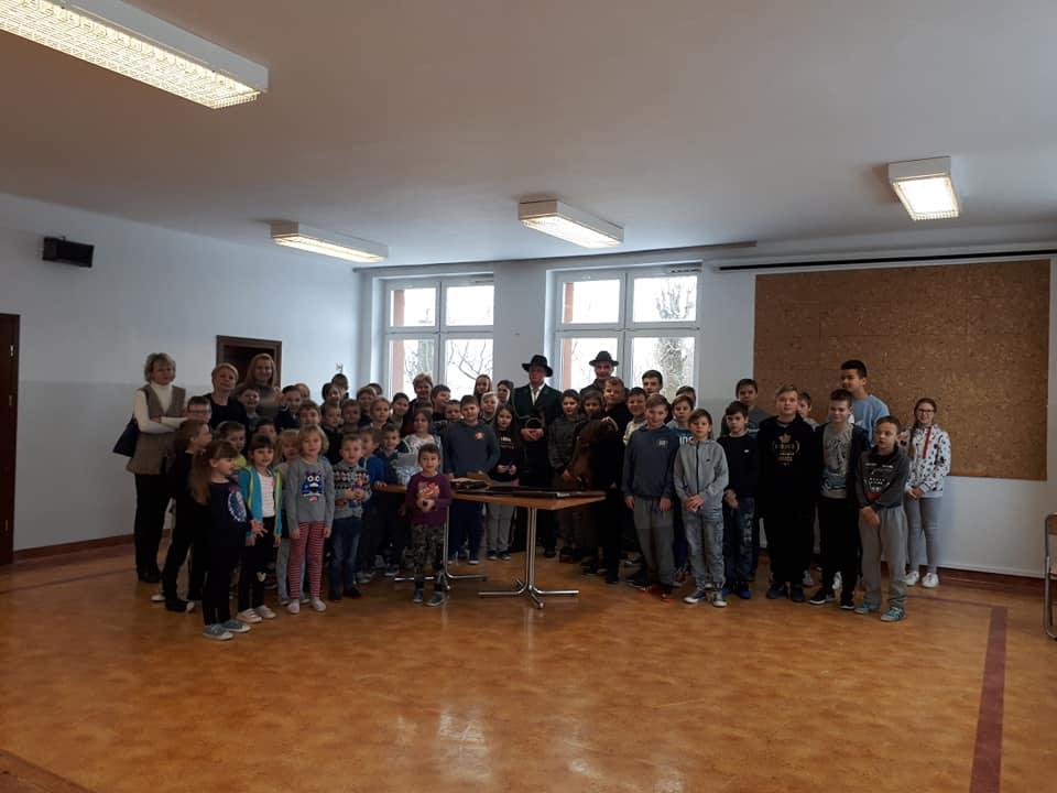 Edukacja ekologiczno – przyrodnicza Koła Łowieckiego Hubert nr 1 w Jakubowicach.