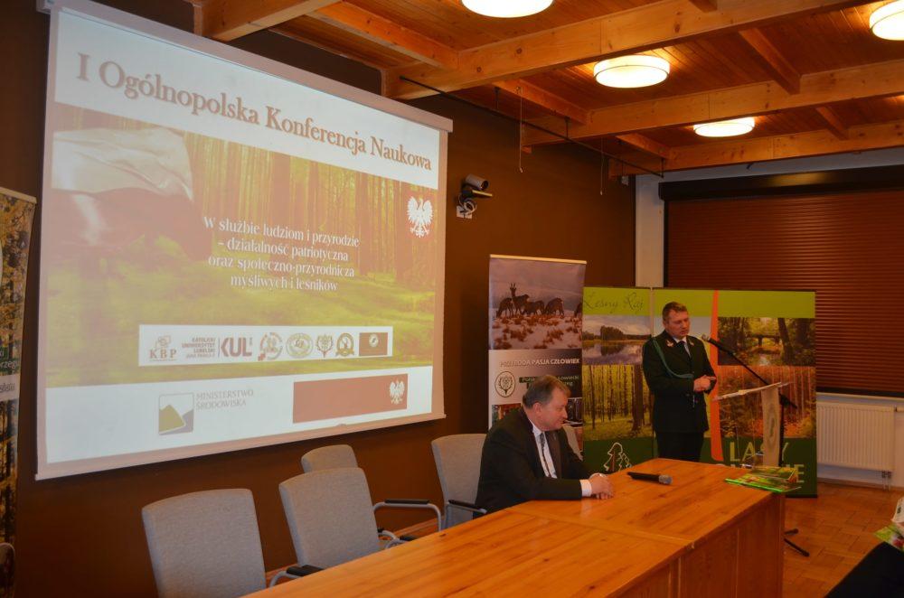 I Ogólnopolska Konferencja Naukowa pt. W służbie ludziom i przyrodzie – działalność patriotyczna oraz społeczno-przyrodnicza myśliwych i leśników .