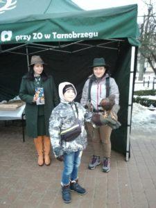 XXVII Finał Wielkiej Orkiestry Świątecznej Pomocy na rynku w Tarnobrzegu z naszą Waderą.