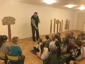 """Edukacja z kołem łowieckim """"Nadwiślańskie"""" w Radomyślu nad Sanem."""