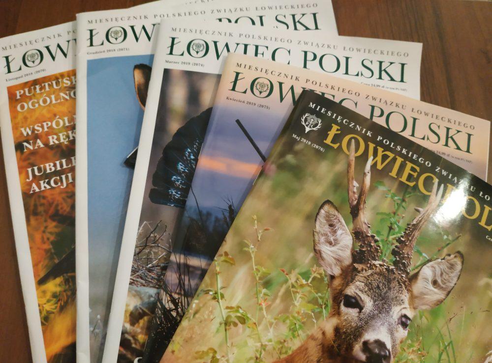 """Łowczy Krajowy: zmieniamy się dla Was. """"Łowiec Polski"""" w nowej, niższej cenie."""