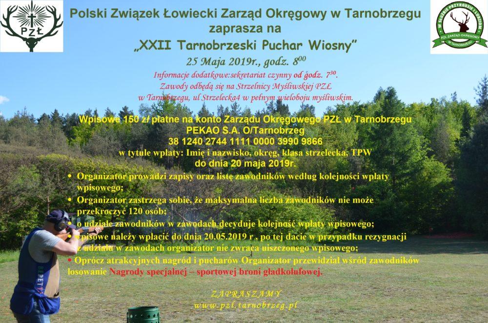 XXII Tarnobrzeski Puchar Wiosny 25.05.2019 r.