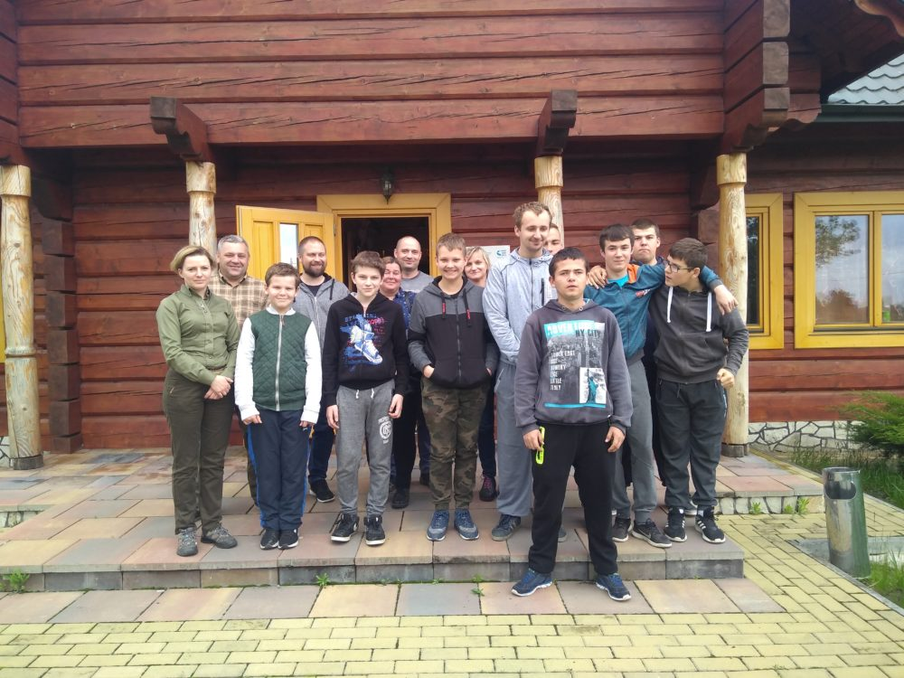 Bezpieczne wakacje, zajęcia w Kole Łowieckim Leśnik Tarnobrzeg