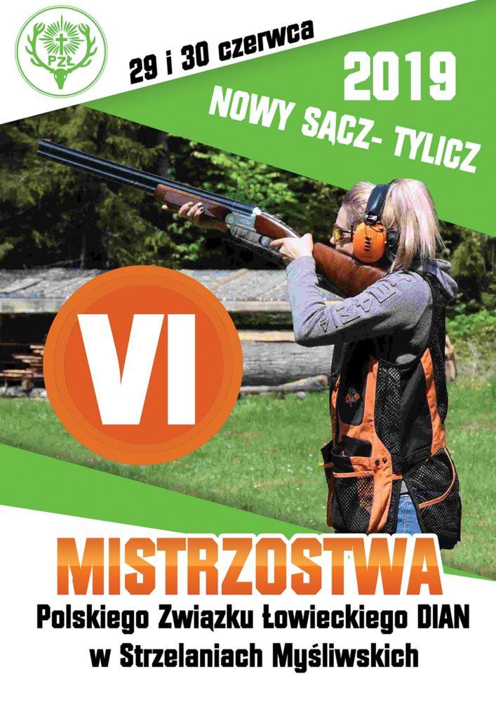Mistrzostwa Polski Dian, 29,30 czerwca 2019 r.