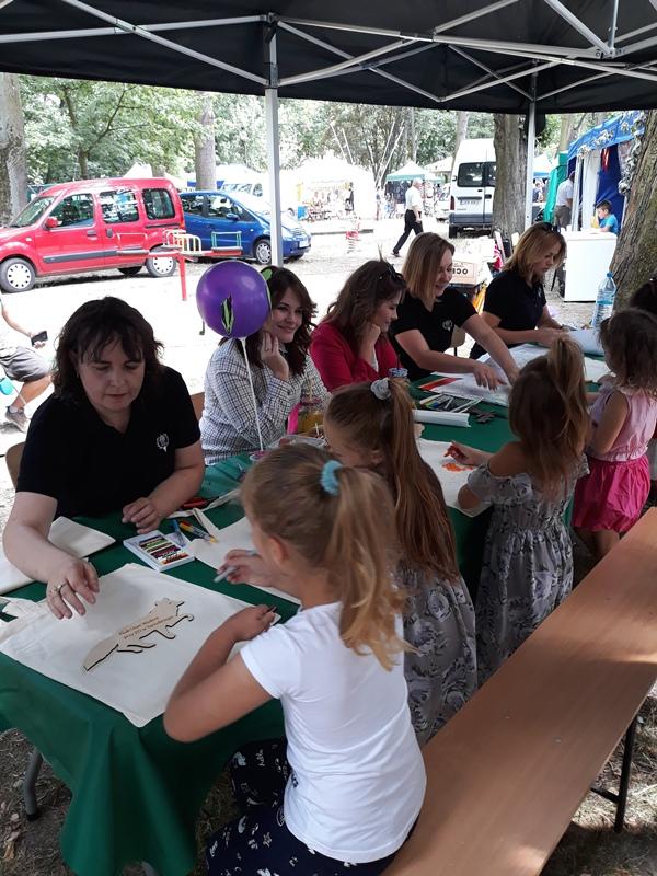 Klub Dian Wadera na Niżańskim Festiwalu Kultury Łowieckiej.