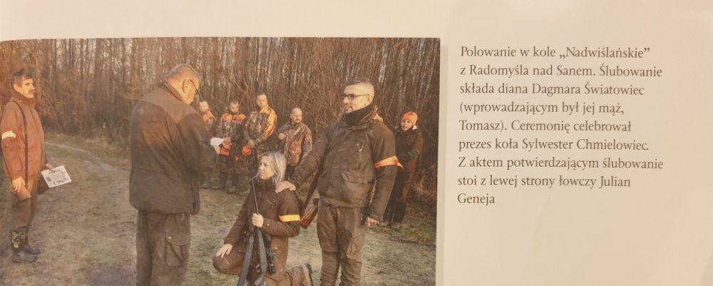 """Tarnobrzeska Diana w """"Łowcu Polskim""""."""