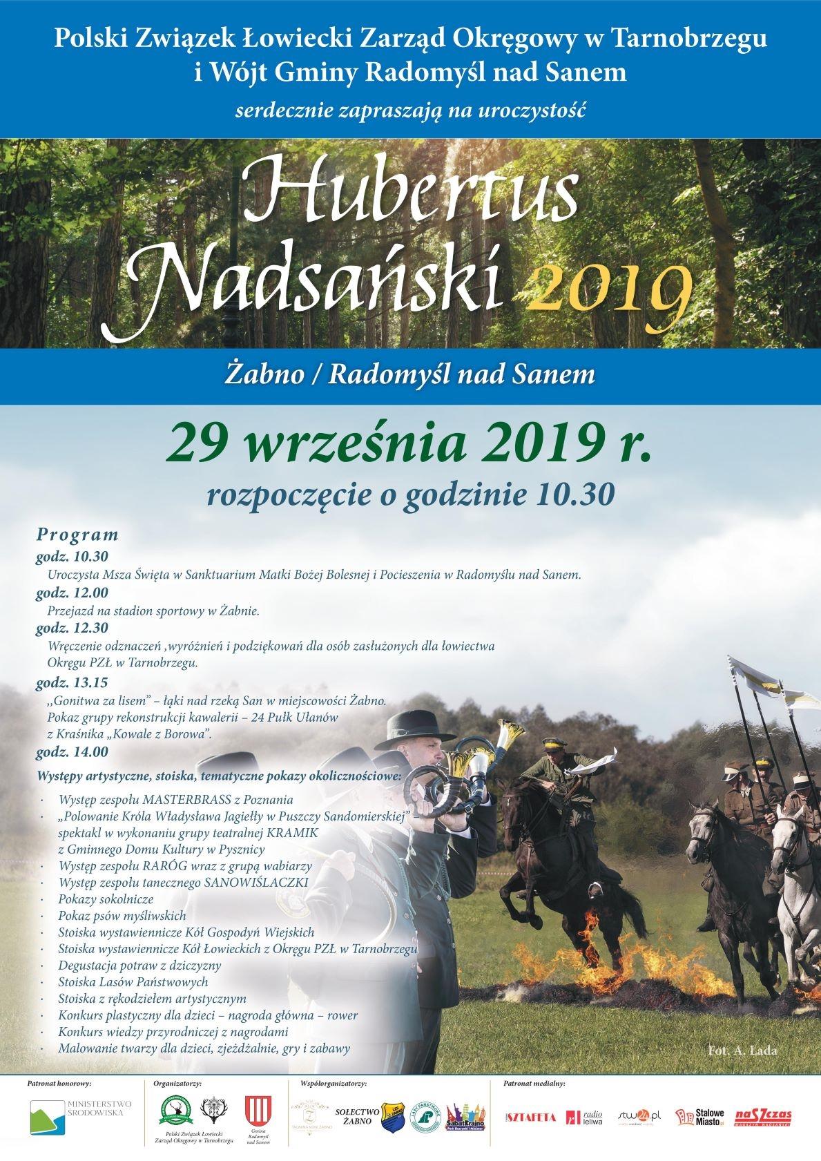 Okręgowy Hubertus Nadsański 29.09.2019 r.