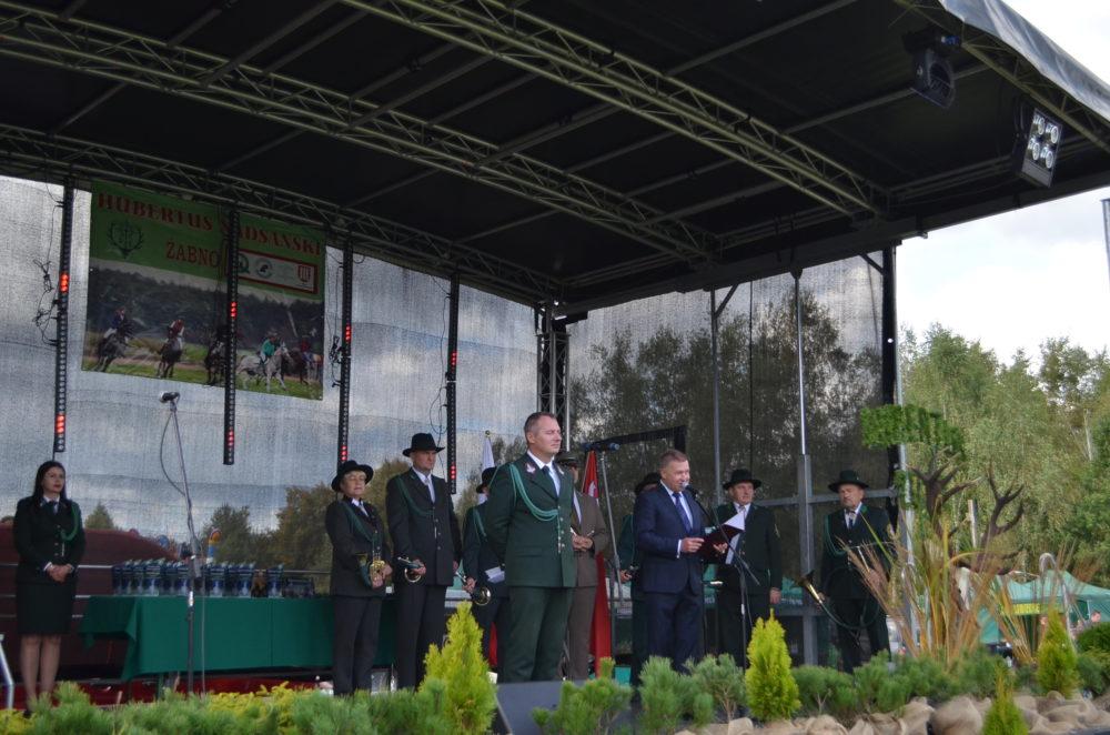 Hubertus Nadsański 2019 r. Uroczystości na stadionie w Żabnie, foto-relacja.