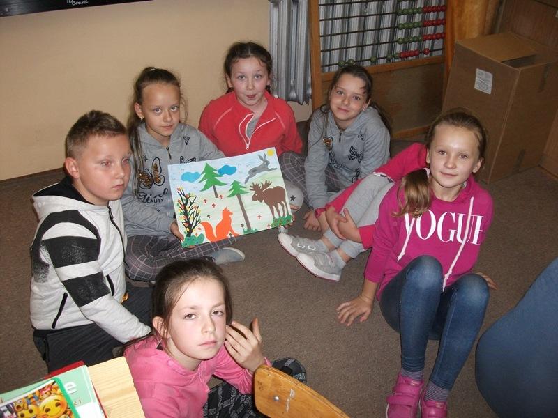 W odwiedzinach w Publicznej Szkole Podstawowej w Branwi.