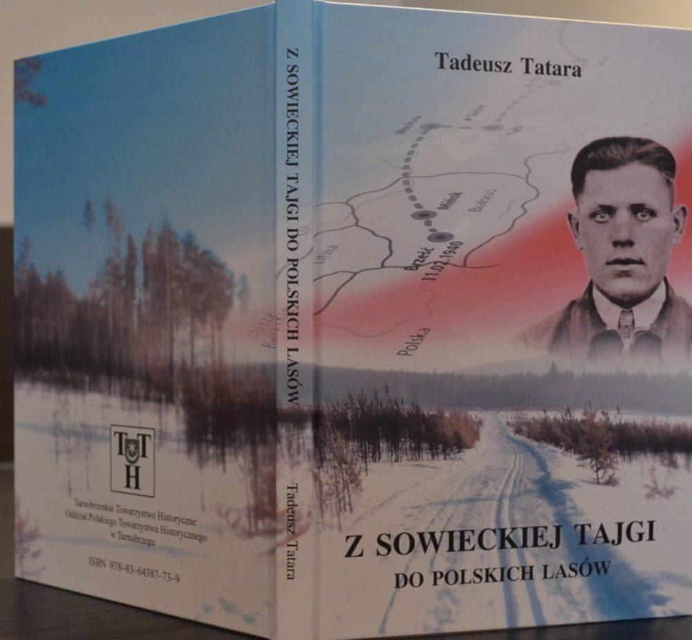"""Wspomnienia Tadeusza Tatary, promocja książki p.t. """"Z sowieckiej tajgi do polskich lasów"""""""