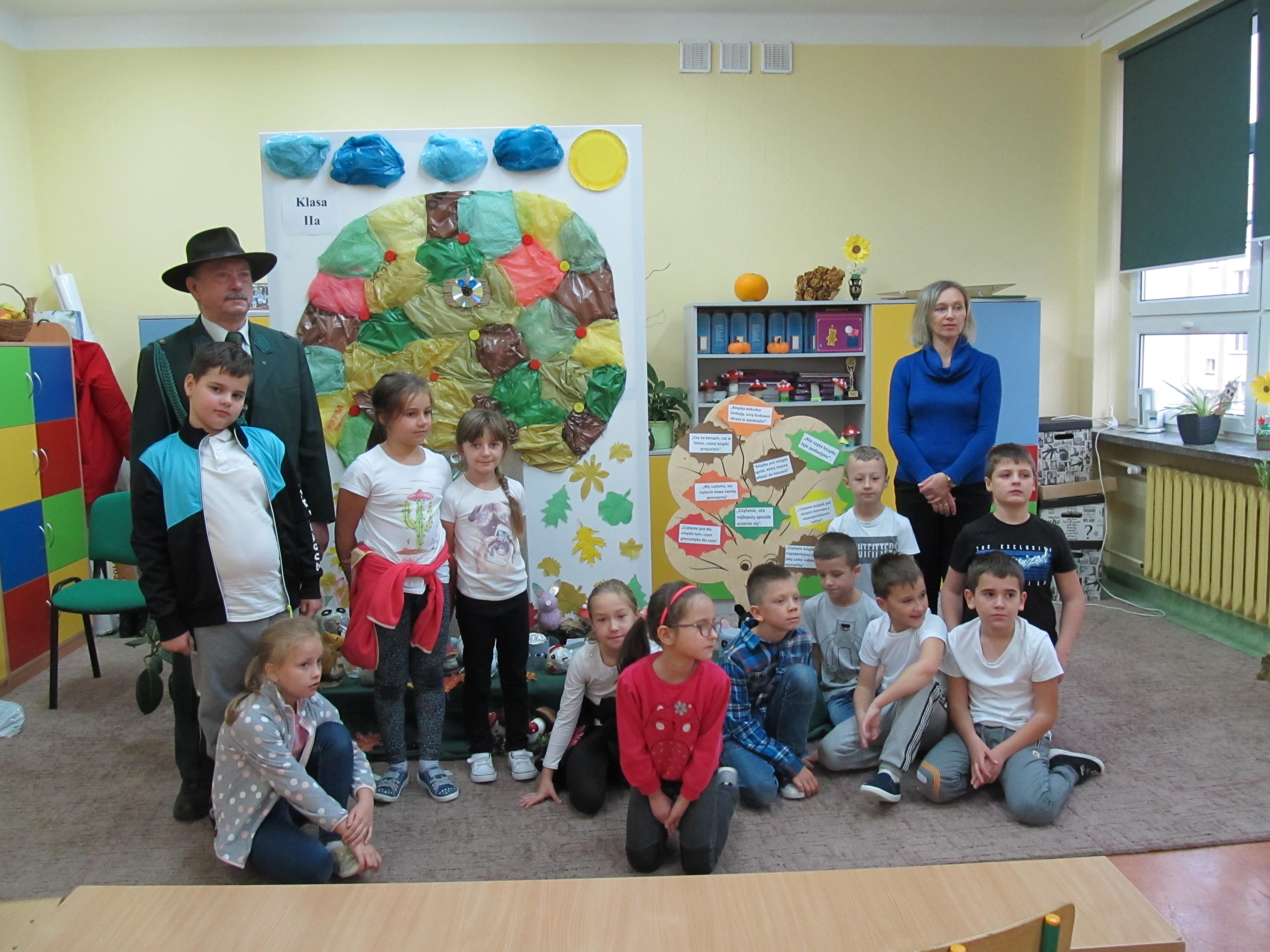 Warsztaty edukacyjne dla dzieci i młodzieży z zakresu wiedzy o myślistwie i łowiectwie w K.Ł. San Skowierzyn.