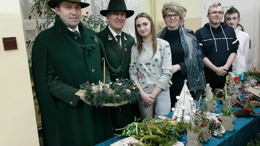 """Spotkanie Bożonarodzeniowe, koło łowieckie """"Knieja"""" Sichów."""