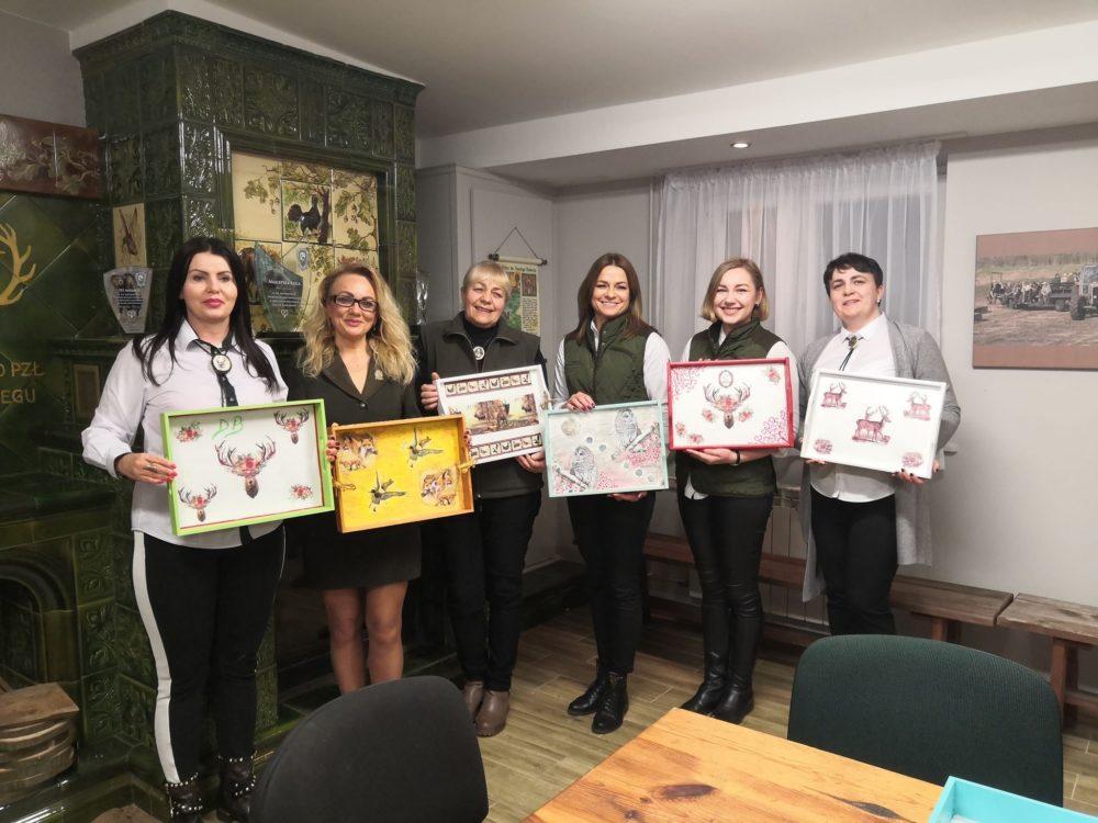 """👉Zajęcia  decoupage w Klubie Dian """"Wadera"""" przy ZO PZŁ Tarnobrzeg👈"""