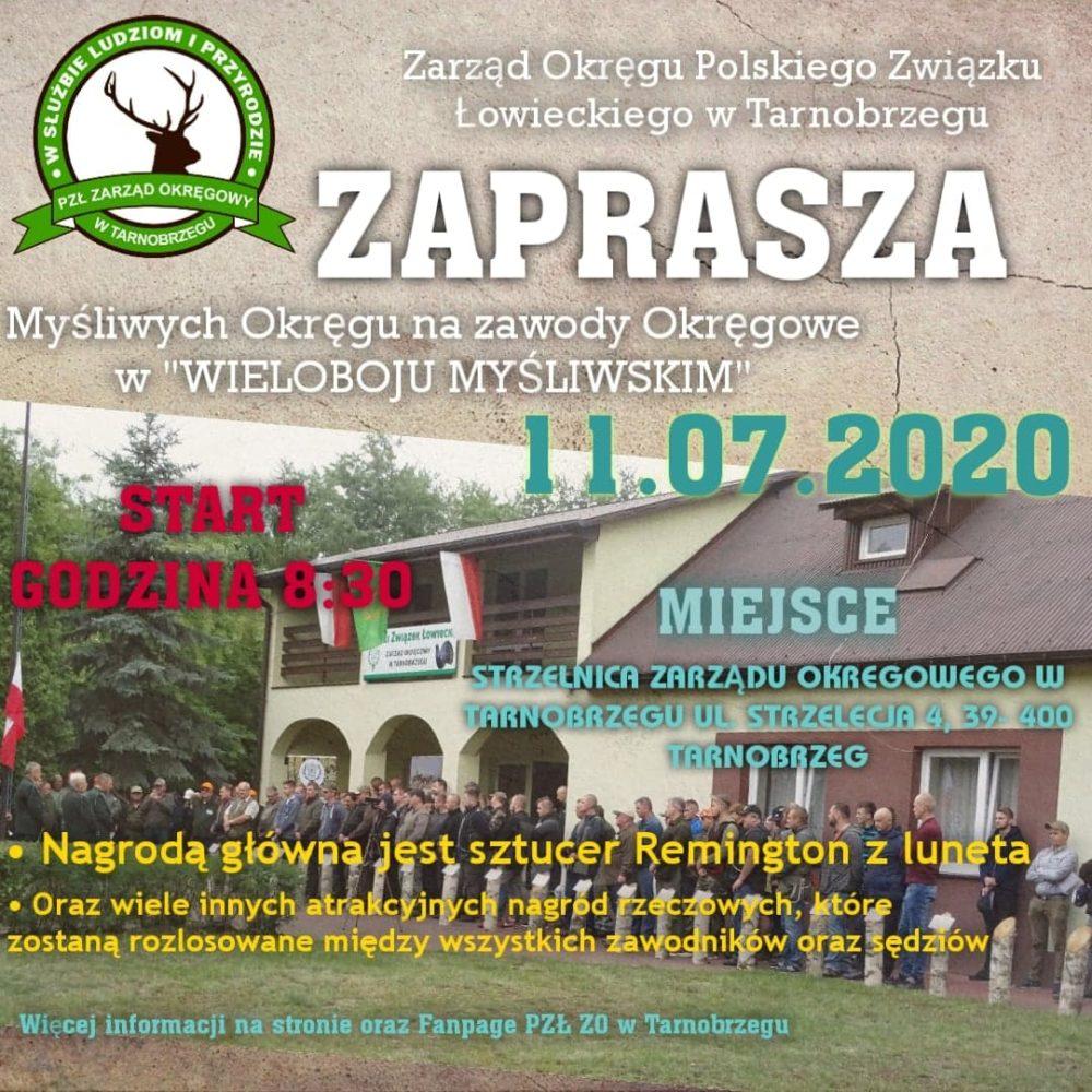 Zawody Okręgowe W Wieloboju Myśliwskim, 11.07.2020 r.