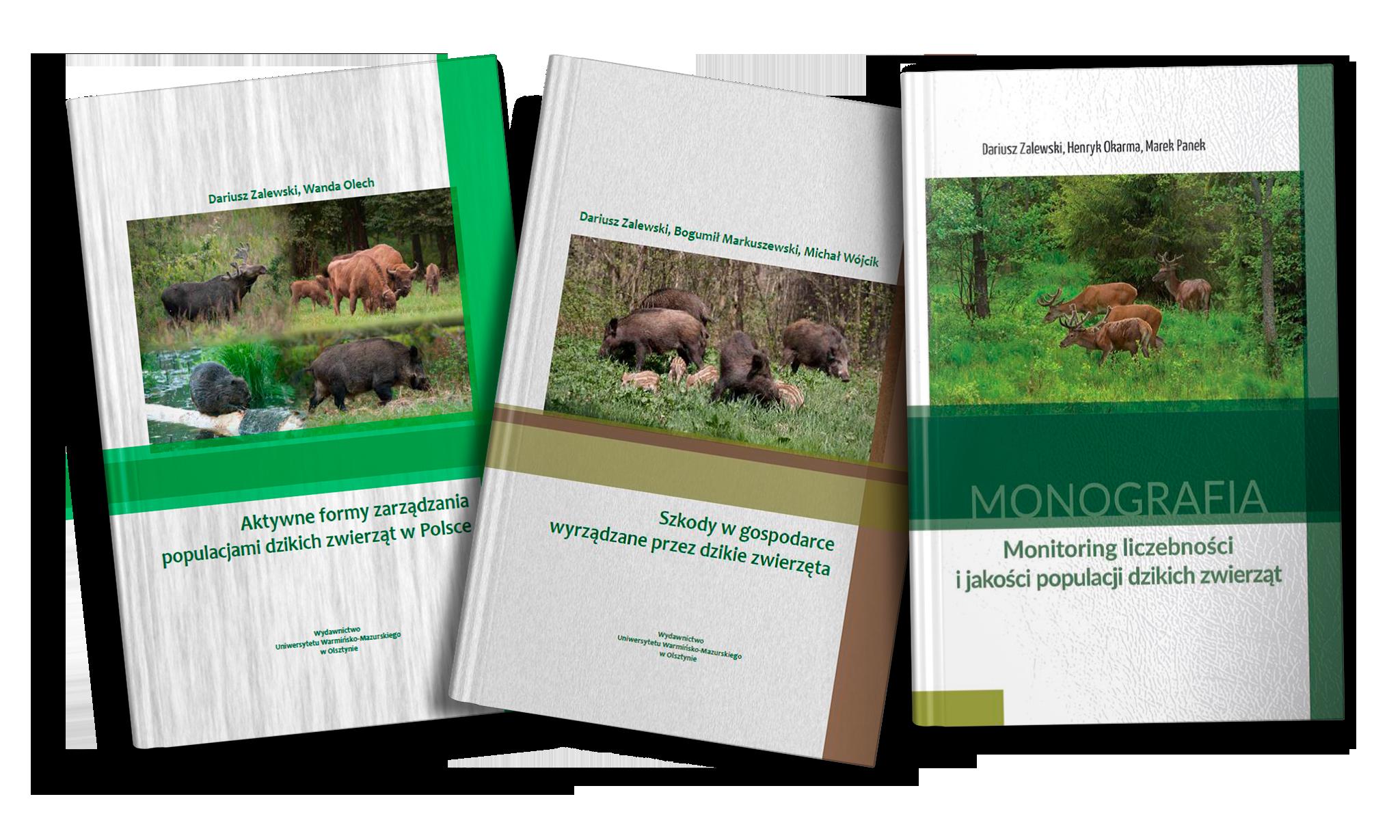 Monografie przyrodniczo-łowieckie dla praktyków.