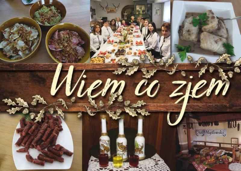 """""""Wiem co zjem"""" – publikacja dla miłośników kuchni myśliwskiej i nie tylko…"""